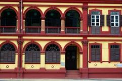 Casa colonial preservada Imagem de Stock Royalty Free