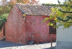 Casa colonial velha Fotografia de Stock