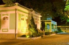 Casa coloniale conservata Fotografia Stock Libera da Diritti