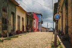 Casa coloniale Trinidad Immagine Stock Libera da Diritti