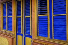 Casa coloreada Imagen de archivo