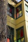 Casa coloreada Imagen de archivo libre de regalías