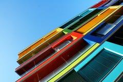 Casa colorida Imagen de archivo libre de regalías