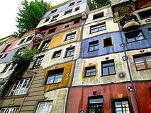 Casa colorida Fotos de archivo