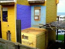 Casa colorida Imagens de Stock Royalty Free