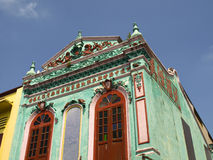 Casa colorida en Melaka Fotografía de archivo libre de regalías