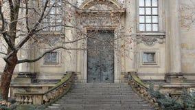 Casa com escadas Imagem de Stock