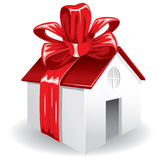 Casa como regalo para usted Imagenes de archivo