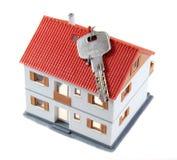 Casa con clave imagenes de archivo