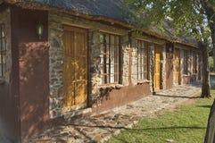Casa con el cuarto de invitados en casa de campo del juego de Kudus Rus Fotos de archivo libres de regalías