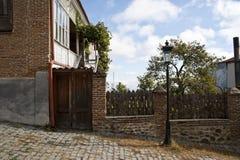 Casa con fance Foto de archivo libre de regalías