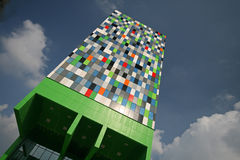 Casa Confetti. The new way of living for the modern students in Utrecht Holland Stock Photography