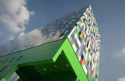 Casa Confetti. The new way of living for the modern students in Utrecht Holland Stock Photo