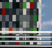Casa Confetti. The new way of living for the modern students in Utrecht Holland Stock Images