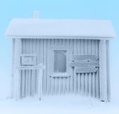 Casa congelada Fotos de archivo libres de regalías