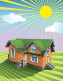 Casa consideravelmente pequena