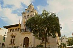 Casa consistorial d'Alcudia Stockbilder