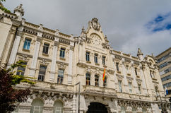 Casa consistorial Santander Cityhall Immagini Stock Libere da Diritti