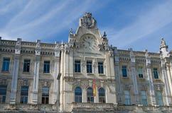 Casa consistorial Santander Cityhall Immagine Stock
