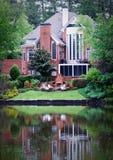 Casa contemporánea Foto de archivo libre de regalías