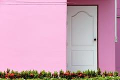 Casa cor-de-rosa Fotografia de Stock