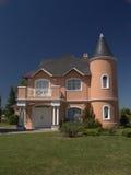 Casa cor-de-rosa 1 Foto de Stock