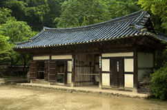 Casa coreana Fotografia Stock