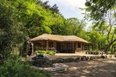 Casa coreana tradicional velha Imagem de Stock