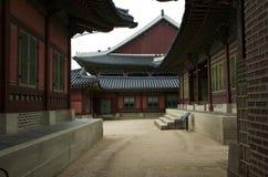 Casa coreana tradizionale Immagini Stock
