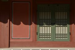 Casa coreana velha Fotografia de Stock