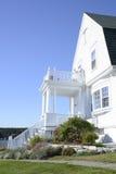 Casa costiera tipica di Maine Fotografia Stock Libera da Diritti
