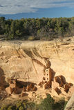 Casa cuadrada de la torre, Mesa Verde Imagen de archivo libre de regalías