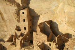 Casa cuadrada de la torre, Mesa Verde imagen de archivo
