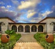 casa cubana tropicale Immagine Stock Libera da Diritti