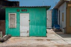 Casa Curaçao de la madera Imagenes de archivo