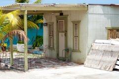 Casa Curaçao de la madera Fotos de archivo