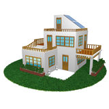 casa 3d Imagenes de archivo