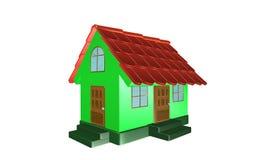 casa 3d Fotografia Stock