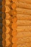 casa d'angolo di legno Immagine Stock