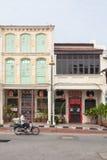 Casa d'annata classica a Penang Fotografia Stock