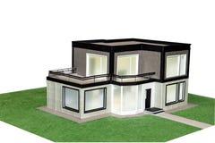 Casa 3d modelo Foto de Stock