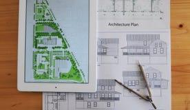 Casa da arquitetura Imagem de Stock Royalty Free