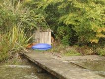 Casa da canoa Imagem de Stock Royalty Free