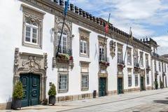 Casa da Carreira in Viana do Castelo, Portugal Stock Photos