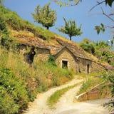 Casa da caverna, Pyreleau, França Fotos de Stock Royalty Free