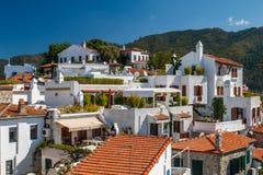 Casa da cidade de Marmaris Fotos de Stock Royalty Free