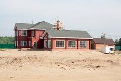 Casa da construção Foto de Stock