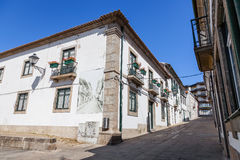 Casa da Cultura (Culture House) of Vila Nova de Famalicao. Royalty Free Stock Image