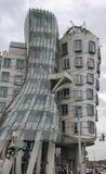 A casa da dança, a construção de Nationale-Nederlanden em Praga, imagem de stock