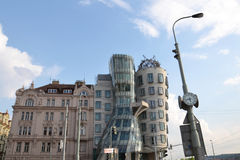 Casa da dança em Praga Foto de Stock